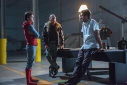 Así es el nuevo Spider-man de Tom Holland, Jon Watts y Michael keaton