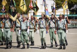 XCVII aniversario de la fundación de La Legión, en imágenes