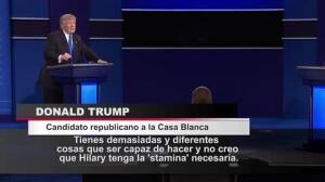 Clinton se impone a Trump en el primer cara a cara