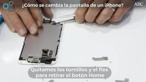 ¿Cómo se cambia la pantalla de un iPhone?