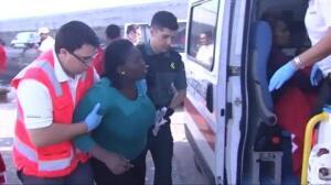 Rescatados 20 inmigrantes en aguas del Estrecho