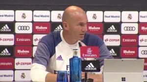 """Zidane: """"No pienso que la `BBC´ esté un poco regular"""""""