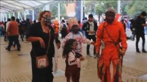 El apocalipsis zombi llega un año más a Ciudad de México