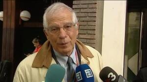 """Borrell: """"Es una decisión difícil, pero ya está tomada"""""""