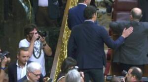Sánchez no despeja la incógnita sobre si votará 'no' el sábado