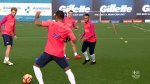 El Barça se reincorpora al trabajo para preparar el partido ante el Granada