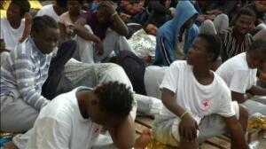 Rescatados 347 inmigrantes en el Mediterráneo