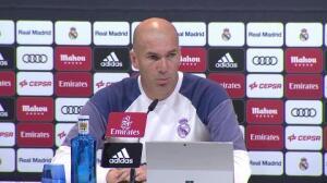 Zidane agradece estar en la lista de 'Mejor Entrenador'
