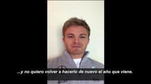 El vídeo con el que Nico Rosberg anuncia su retirada