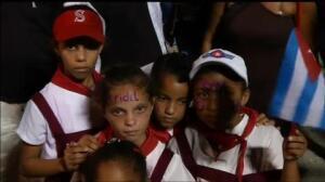 Cuba despide a su comandante en la Plaza de la Revolución