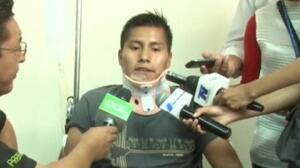 """""""Creí que era una pesadilla"""" dice el superviviente del accidente de LAMIA"""