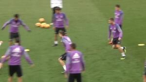 Último entrenamiento del Real Madrid antes de recibir al Deportivo