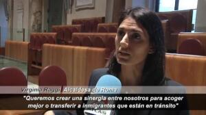 Los 'alcaldes del cambio' participan en Roma en una cumbre sobre refugiados