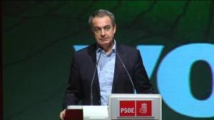 """Zapatero: """"Vamos a estar muy bien... a partir del próximo Congreso"""""""