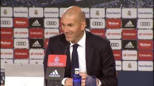 """Zidane: """"Sergio es el alma de este equipo"""""""
