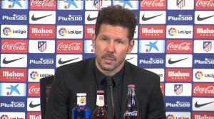 """Simeone: """"Lo más importante son los resultados, mira quién gana el Balón de Oro"""""""