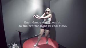 El semaforo bailarin