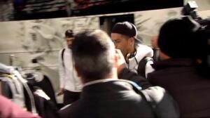 El Real Madrid, aclamado a su llegada a Sevilla