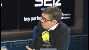 """Patxi López: """"He sido leal a Pedro Sánchez y ahora soy leal a un proyecto en el que creo"""""""