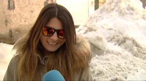 Los vecinos de Benasque en Huesca han registrado las temperaturas más bajas del país