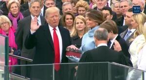 Juramenton Donald Trump