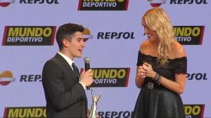 """Márc Márquez: """"La relación con Rossi va mejorando, pero no está el tema para ir a tomar una copita"""""""
