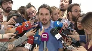 Iglesias apoya a Errejón en la pelea por la Comunidad de Madrid