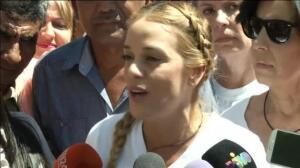 Manifestación en Caracas para pedir la libertad de Leopoldo López