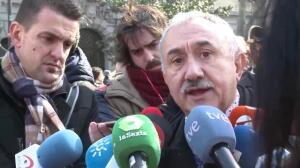 """Sindicatos se manifiestan por """"empleo y salarios dignos"""""""