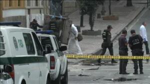 Un muerto y decenas de heridos en una explosión junto a la plaza de toros de Bogotá
