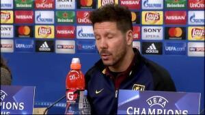 """Simeone: """"Todavía tenemos margen de mejora, mucho"""""""