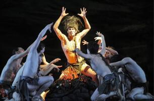 Ensayo del Ballet de la Ópera de Varsovia en el Teatro de la Maestranza