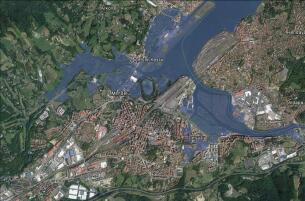 Las primeras zonas de España que desaparecerán si sube el nivel del mar tres metros