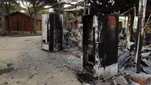 Los estragos del incendio en Doñana, en imágenes