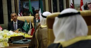 En imágenes, Obama tranquiliza a las petromonarquías del Golfo