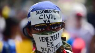 Las imágenes de la «megamarcha» en Venezuela