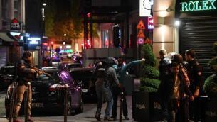 En imágenes: tiroteo en los Campos Elíseos de París