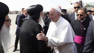En imágenes: el viaje del Papa Francisco a Egipto