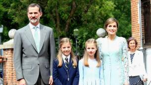 La Comunión de la Infanta Sofía, en imágenes