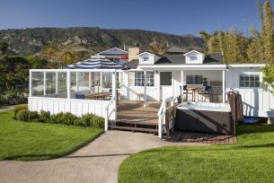 La nueva casa estival de Mila Kunis y Ashton Kutcher en Santa Bárbara