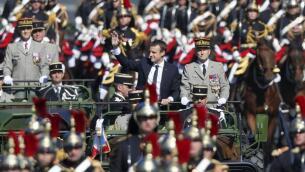 El Desfile de la Bastilla, en imágenes