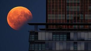 Así ha visto el mundo el segundo eclipse lunar del año