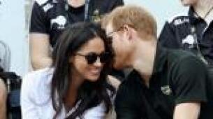 Primeras imágenes de Meghan Markle y el príncipe Enrique