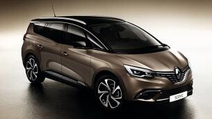 Primeras imágenes del Renault Grand Scénic
