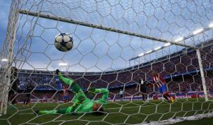 Atlético-Real Madrid, en imágenes