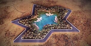 Oasis Eco Resort, lujo en pleno desierto