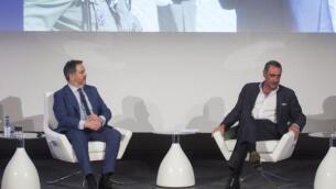 Imágenes de la charla entre Bieito Rubido y Carlos Herrera, «el comunicador más influyente de España»