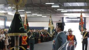 La celebración de la patrona de la Guardia Civil, en imágenes
