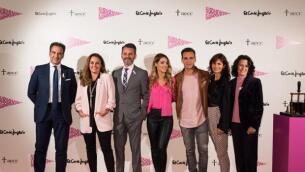 Así fue el acto de inauguración de la campaña contra el cáncer de mama