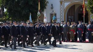 La celebración del Día del Veterano en Sevilla, en imágenes